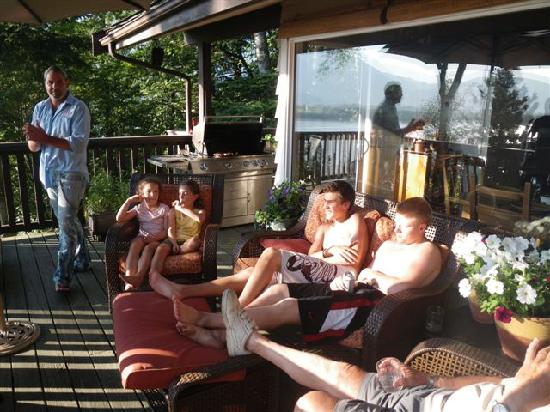 Chilliwack, Canada: Relaxing after a round of Golf at Sandpiper