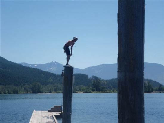 Chilliwack, Canada: Routine diving on the Fraser!