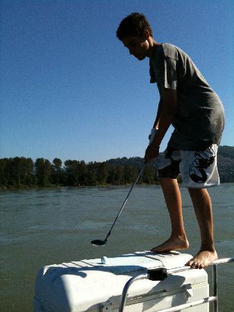 Chilliwack, Canada: Golfing the Fraser River!