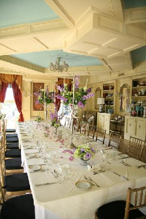 Belvedere Mansion: The dinning room