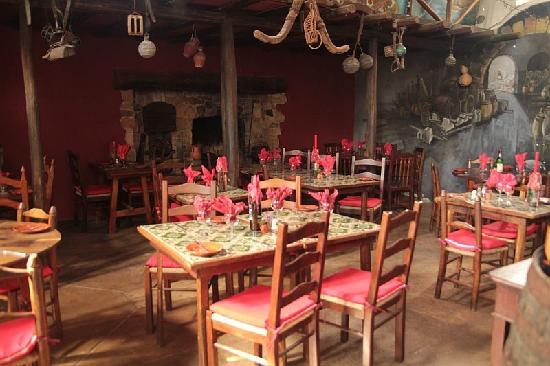 Casa Grande: The restaurant
