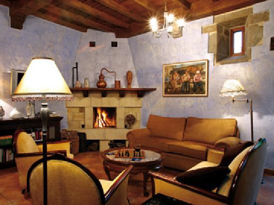 Hotel Palacio La Cajiga: Salón