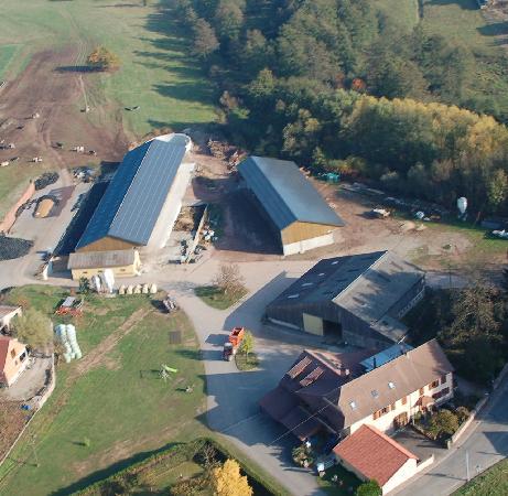 Dieffenbach-au-Val, Frankrike: vue aérienne