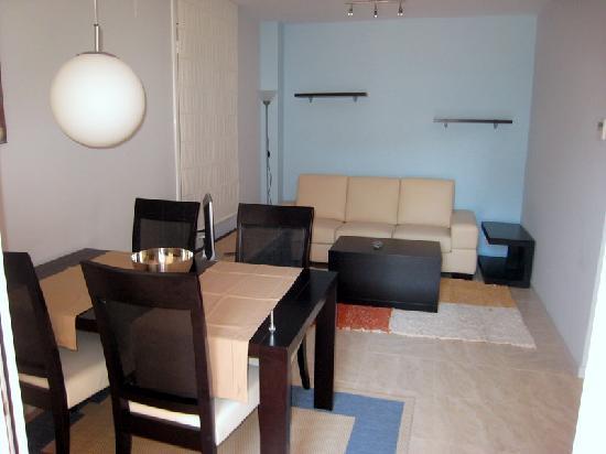 Apartaments Caru : Salon