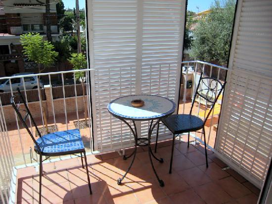 Apartaments Caru : Terraza