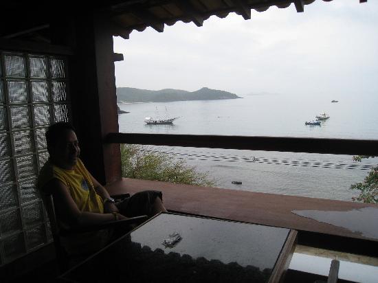 هوتل إل كازار: balcony fr room overlooking beach