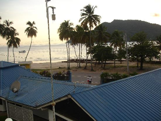 Maracas Bay Hotel : Compound Layout (view from balcony)