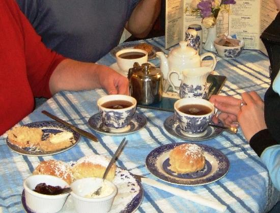 Market House Tea Rooms: Yummiest cream tea!
