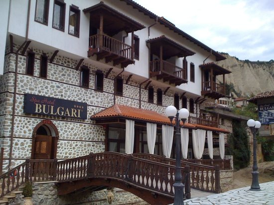 Melnik, Bulgaria: Hotel exterior