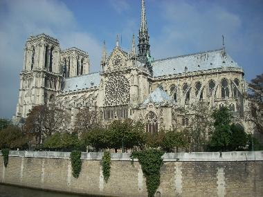 Notre Dame Cathedral on the Ile de la Cite