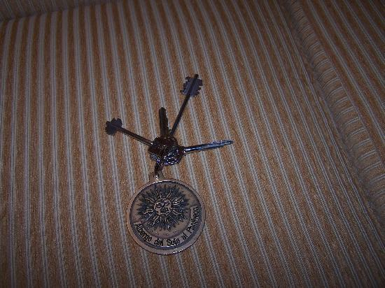 Albergo del Sole Al Pantheon: Room Keys