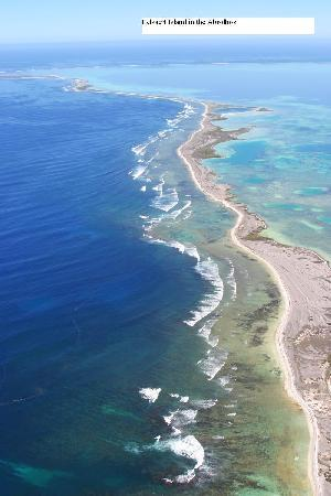Pelsaert Island in the beautiful Abrolhos Islands, Geraldton