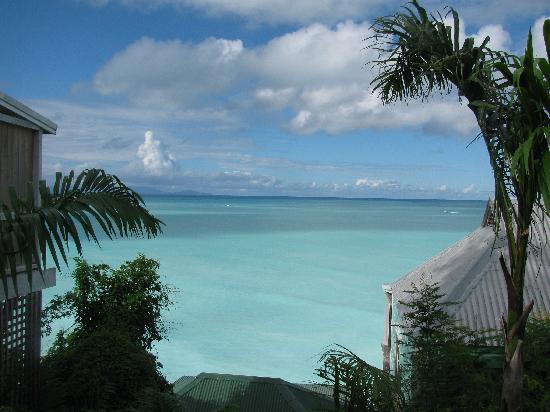 COCOS Hotel Antigua : View from Pathway to our Room