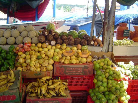 Willemstad, Curacao: fruit market