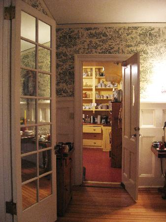 Birchwood Inn : View toward the pantry from dining room.