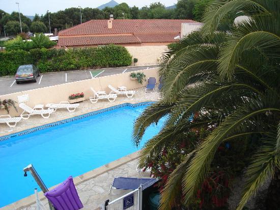Hotel Acapella: vue de ma chambre