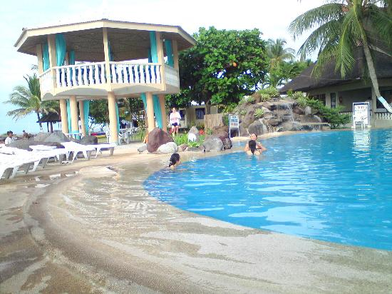 Paras Beach Resort Pool Area