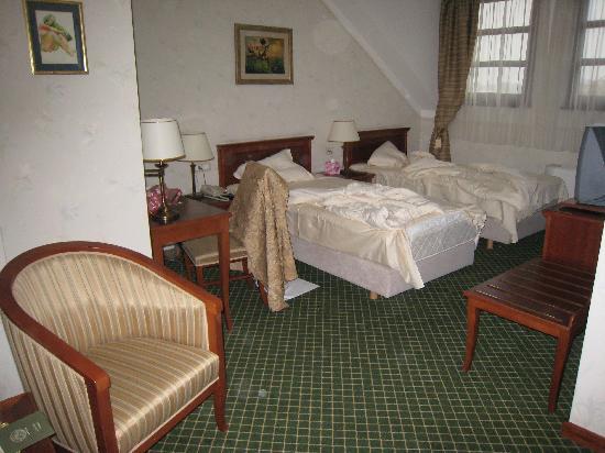 Hotel Zlatnik: Das Zimmer