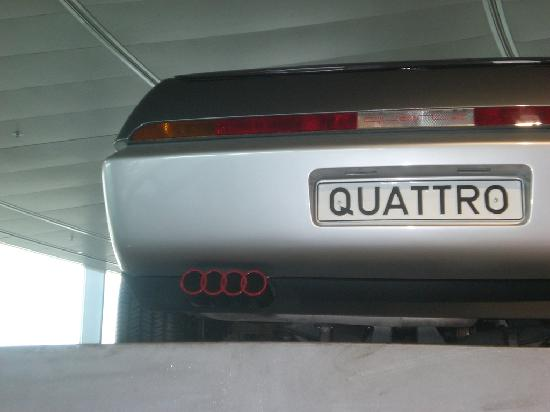 Audi Museum: Seltene Audi Prototypen