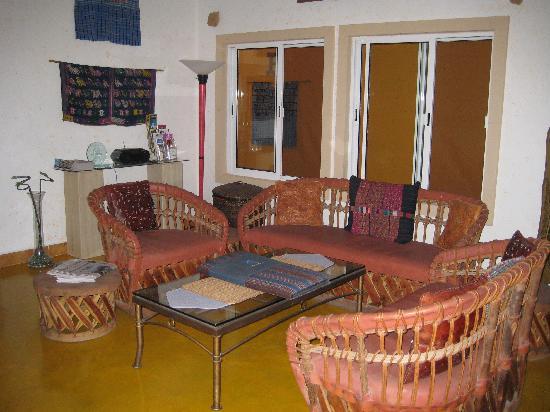 Cascadas de Merida: Sitzecke im Wohnzimmer