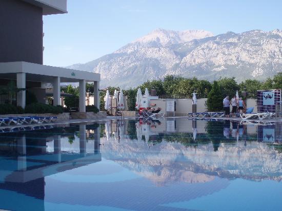 Viking Star Hotel: uitzicht van t hotel