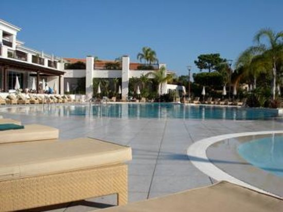 Quinta do Lago, Portugal : The cold pool!
