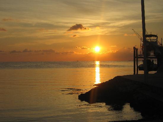 Sunset at Island Bay Resort