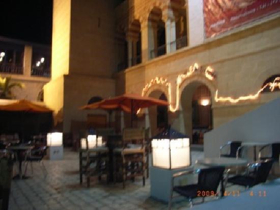 Yasmin Hammamet: 観光メディナ内のイタリアンレストラン。