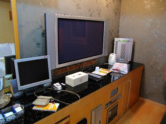 "IMI Hotel: Computer and 40"" tv. Cup sanitizer & ionizer is provided."