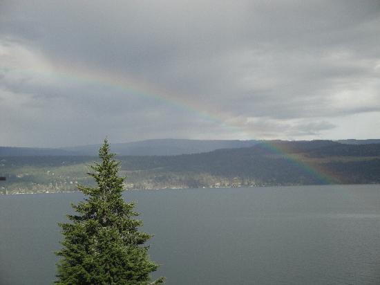 Lake Okanagan Rainbow