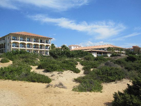 Iberostar Andalucia Playa: Blick vom Strand