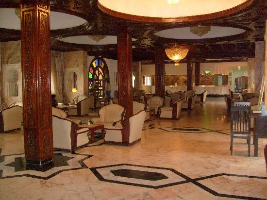 Le Marabout Hotel : Hall d'acceuil