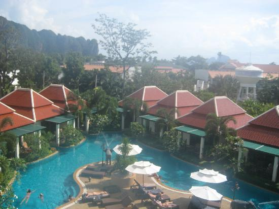 Aonang Orchid Resort: View from the third floor