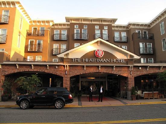 The Heathman Hotel Kirkland From Outside