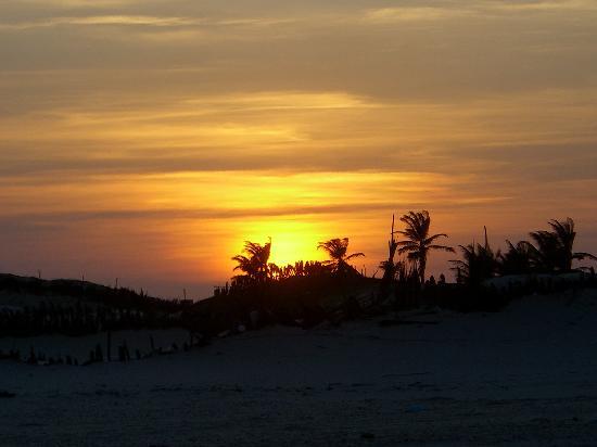 Barreirinhas, MA: Por do Sol em Cabure