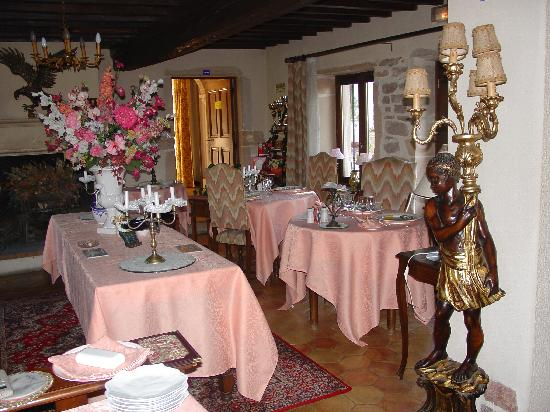 Hostellerie Sarrasine : The diningroom