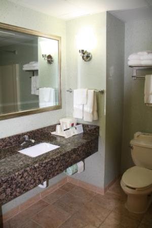 Comfort Suites: salle de bain