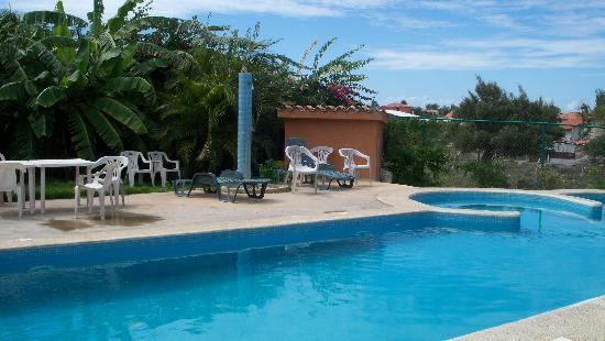 Posada Yemaya: La rica piscina
