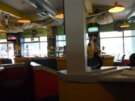 The Hurricane Restaurant: Dining room