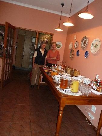 Blommenberg Guest House: super lekker das Frühstück