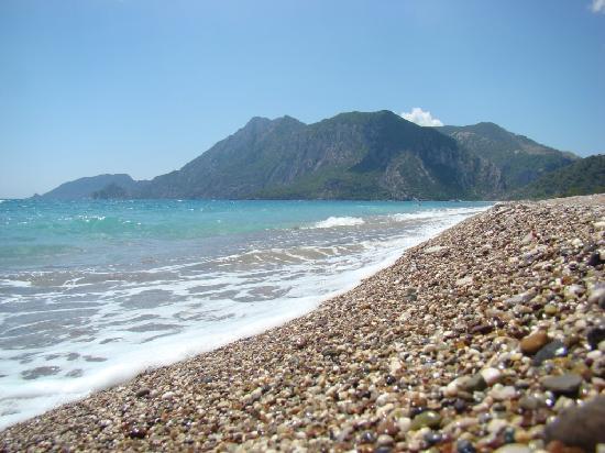 Cirali, Tyrkia: cirai beach