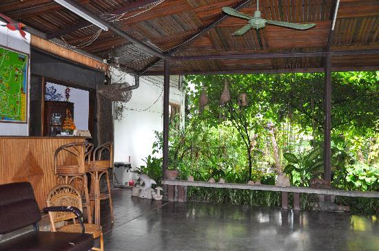 Villa That Luang: Breakfast area