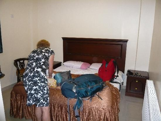 Cleopetra Hotel: the room