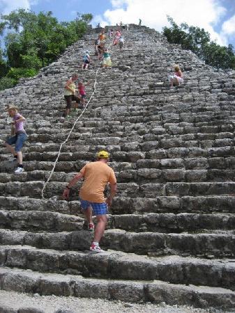 Grand Sirenis Riviera Maya Resort & Spa: Excursion into Coba!