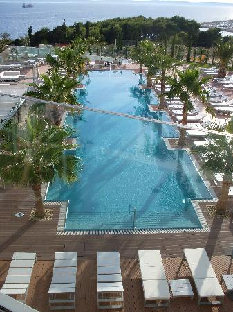Radisson Blu Resort Split : der wunderbare Pool