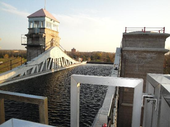 Peterborough Lift Lock: Upper section