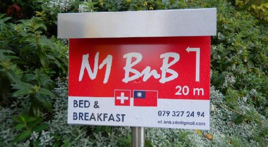 N1 Bed and Breakfast Baden: target