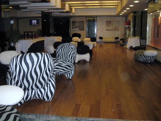 Interior of Hotel Borromini