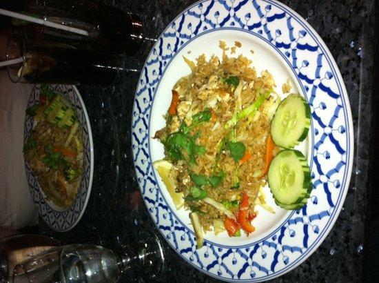 Bangkok Garden Restaurant: fried chicken rice