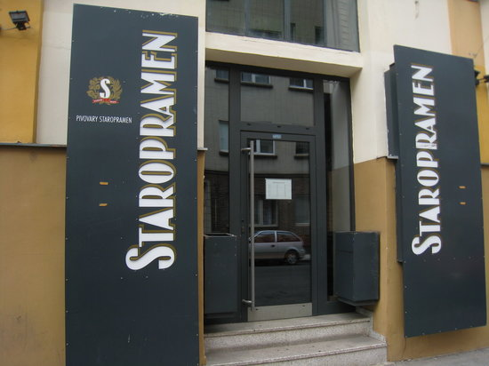 Staropramen Visitor Center: Staropramen Visitor's Centre